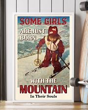 Some Girls Born With The Mountain Skiing 16x24 Poster lifestyle-poster-4