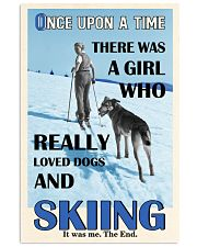 Once Upon A Time Dogs And Skiing 16x24 Poster front