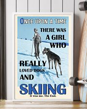 Once Upon A Time Dogs And Skiing 16x24 Poster lifestyle-poster-4