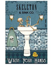 Sink Company Skeleton 16x24 Poster front