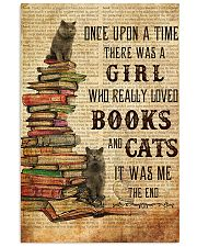 Books Cats Once Upon A Time British Shorthair 11x17 Poster front