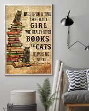 Books Cats Once Upon A Time British Shorthair 11x17 Poster lifestyle-poster-1