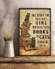 Books Cats Once Upon A Time British Shorthair 11x17 Poster lifestyle-poster-3
