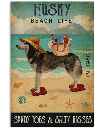 Beach Life Sandy Toes Husky