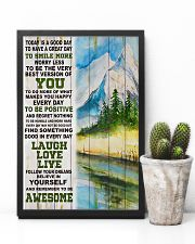 Hiking Be Awesome Today Is A Good Day 11x17 Poster lifestyle-poster-8