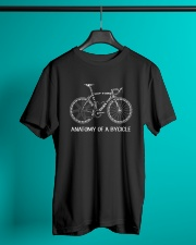 Anatomy Of A Bicycle Classic T-Shirt lifestyle-mens-crewneck-front-3