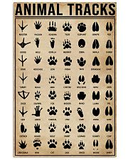 Animal Tracks Hunting 16x24 Poster front