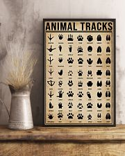 Animal Tracks Hunting 16x24 Poster lifestyle-poster-3