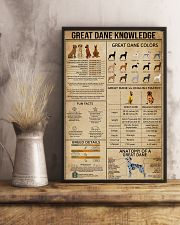 Great Dane Knowledge 11x17 Poster lifestyle-poster-3