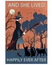 Vintage Girl Witch Lived Happily 11x17 Poster front