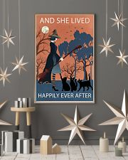 Vintage Girl Witch Lived Happily 11x17 Poster lifestyle-holiday-poster-1