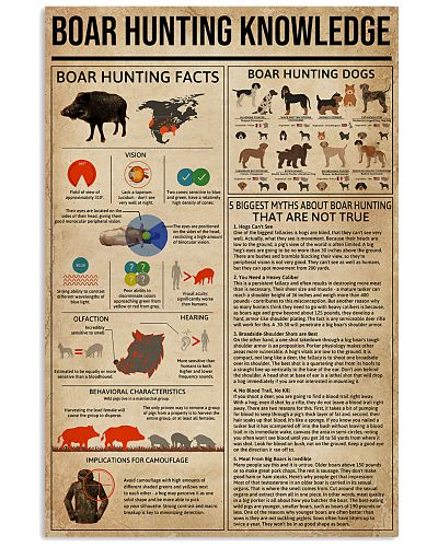Boar Hunting Knowledge