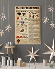 Boar Hunting Knowledge 11x17 Poster lifestyle-holiday-poster-1