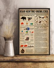 Boar Hunting Knowledge 11x17 Poster lifestyle-poster-3