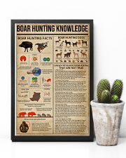 Boar Hunting Knowledge 11x17 Poster lifestyle-poster-8