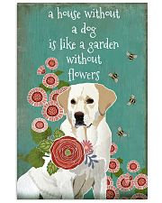 A House Without Labrador Retriever 11x17 Poster front