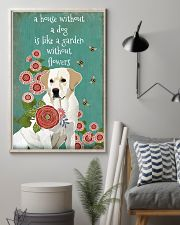 A House Without Labrador Retriever 11x17 Poster lifestyle-poster-1