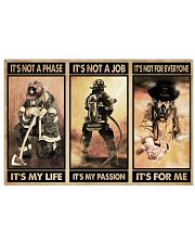 Firefighter It's For Me 24x16 Poster front