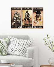 Firefighter It's For Me 24x16 Poster poster-landscape-24x16-lifestyle-01