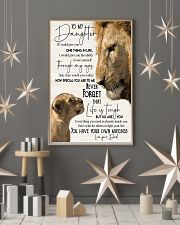 Lion  To My Daughter You Have Your Own Matches 11x17 Poster lifestyle-holiday-poster-1