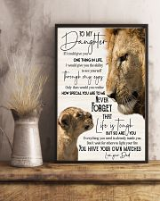 Lion  To My Daughter You Have Your Own Matches 11x17 Poster lifestyle-poster-3