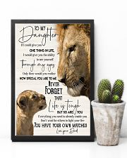 Lion  To My Daughter You Have Your Own Matches 11x17 Poster lifestyle-poster-8