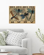 Dragonfly Behind You All Your Memories 24x16 Poster poster-landscape-24x16-lifestyle-01