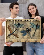 Dragonfly Behind You All Your Memories 24x16 Poster poster-landscape-24x16-lifestyle-21