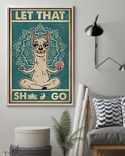 Retro Llama Let That 11x17 Poster lifestyle-poster-1