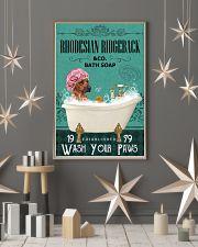 Green Bath Soap Company Rhodesian Ridgeback 11x17 Poster lifestyle-holiday-poster-1