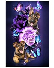 Magic Purple Rose German Shepherd 11x17 Poster front