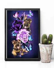 Magic Purple Rose German Shepherd 11x17 Poster lifestyle-poster-8