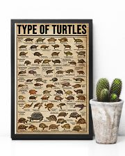 Type Of Turtles 11x17 Poster lifestyle-poster-8