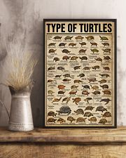 Type Of Turtles 16x24 Poster lifestyle-poster-3