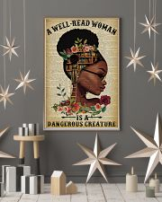 Dangerous Creature Glasses Black Girl Reading 16x24 Poster lifestyle-holiday-poster-1