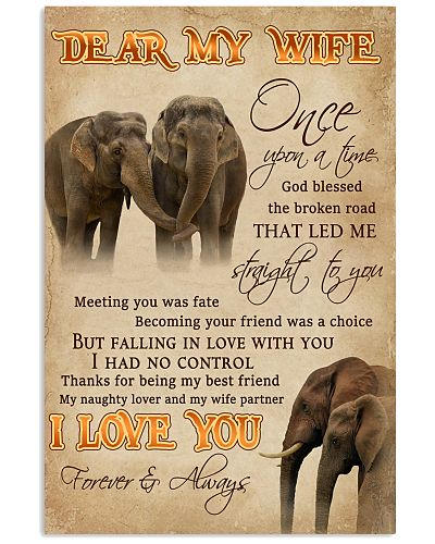 Dear My Wife Straight To You Elephant