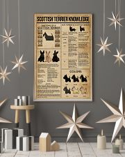 Scottish Terrier Knowledge 11x17 Poster lifestyle-holiday-poster-1