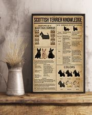 Scottish Terrier Knowledge 11x17 Poster lifestyle-poster-3