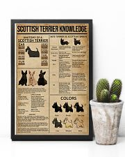 Scottish Terrier Knowledge 11x17 Poster lifestyle-poster-8