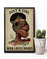 Black Girl Love Books Reading 11x17 Poster lifestyle-poster-8