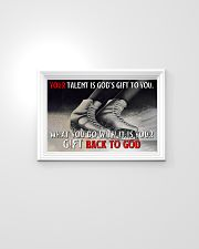 Your Talent Is God's Gift To You Figure Skating 24x16 Poster poster-landscape-24x16-lifestyle-02