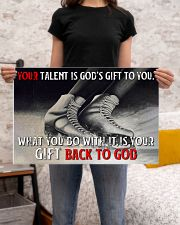 Your Talent Is God's Gift To You Figure Skating 24x16 Poster poster-landscape-24x16-lifestyle-20