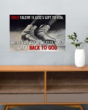 Your Talent Is God's Gift To You Figure Skating 24x16 Poster poster-landscape-24x16-lifestyle-25