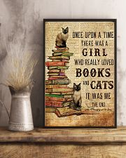 Books Cats Once Upon A Time Siamese 16x24 Poster lifestyle-poster-3