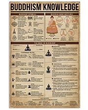 Buddhism Knowledge 16x24 Poster front