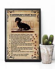 A Dachshund's House Rules Vintage 11x17 Poster lifestyle-poster-8