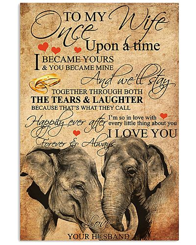 To My Wife From Elephant Love