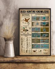 Duck Hunting Knowledge 11x17 Poster lifestyle-poster-3