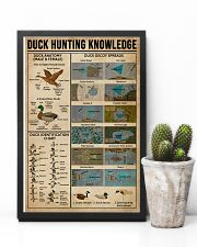 Duck Hunting Knowledge 11x17 Poster lifestyle-poster-8