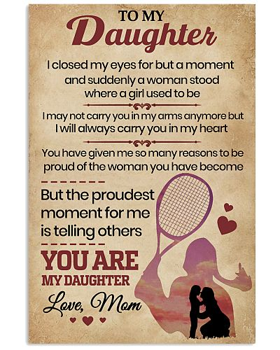 To My Daughter I Closed My Eyes Mom
